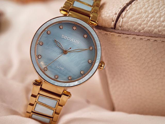 678b122ad55 Relógios Seculus Masculino e Feminino