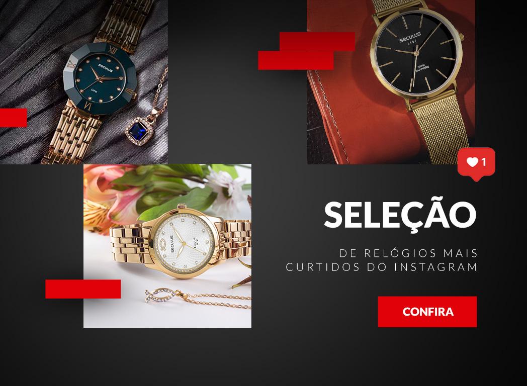 2cfd88ed7 Relógios Seculus Masculino e Feminino