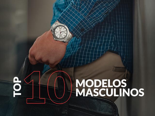 Banner relógio Masculino